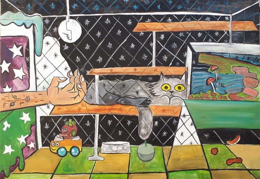 هنر نقاشی و گرافیک محفل نقاشی و گرافیک Emad Qanbari Carol's home