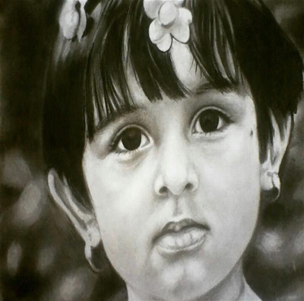 هنر نقاشی و گرافیک محفل نقاشی و گرافیک ساناز ابراهیمی فرد (sani ebra) #کنته_با_زغال #پرتره#قبول_سفارش_پرتره#هنرنقاشی #سیاه_قلم#سانازابراهیمی_فرد#سانی_ابرا #sanaz.ebrahimifard#Sanieb#paint  ra#art