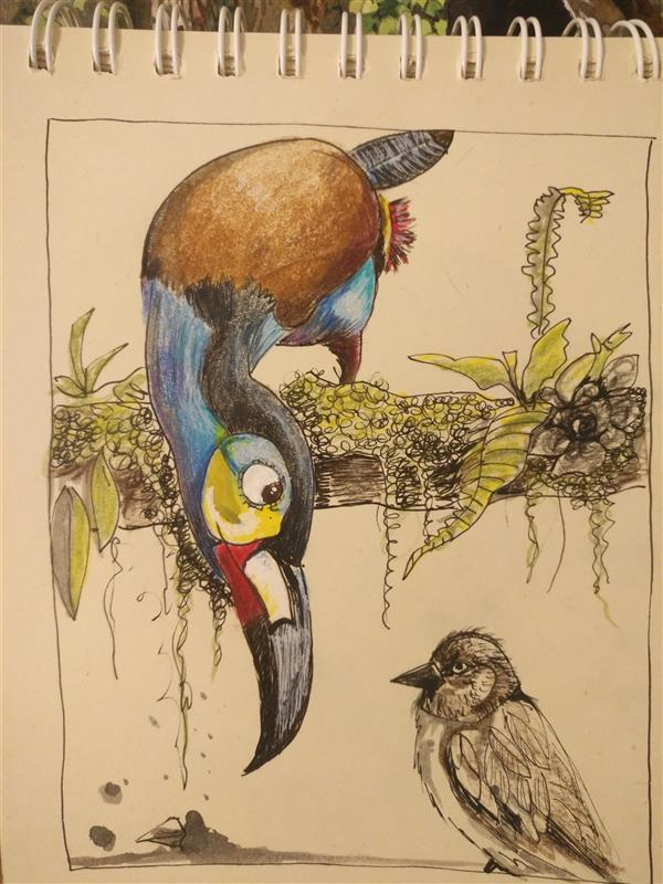 هنر نقاشی و گرافیک محفل نقاشی و گرافیک کتایون عمادی