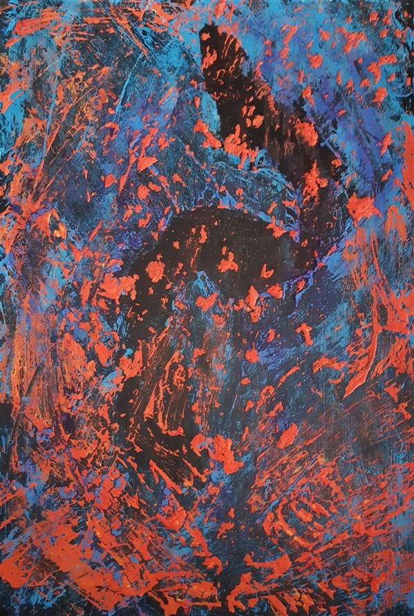 هنر نقاشی و گرافیک محفل نقاشی و گرافیک سارا ابوالصدق نام اثر:بافت مکمل،ابعاد:40×30،متریال:میکس مدیا،تکنیک:تکسچر،سال اثر:بهار1397