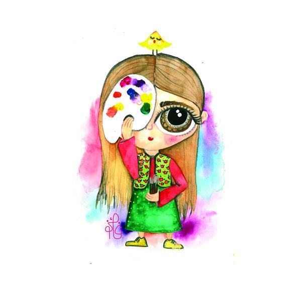 هنر نقاشی و گرافیک محفل نقاشی و گرافیک فائزه آسایش