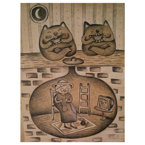 هنر نقاشی و گرافیک محفل نقاشی و گرافیک پردیس چوپانی #تصویرسازی #مداد #تصویرسازی_کودک #illustrator  ابعاد: a4  تکنیک: مداد