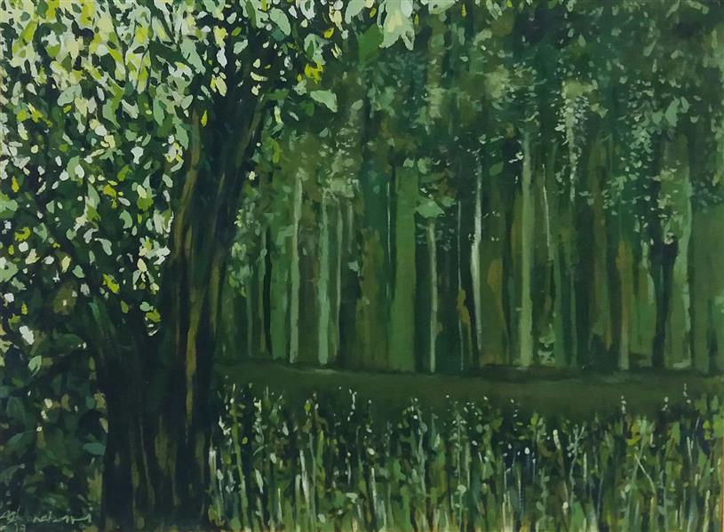 هنر نقاشی و گرافیک محفل نقاشی و گرافیک Fatemehaghakabiri # paint#painter#nuture# paint#oilpainting