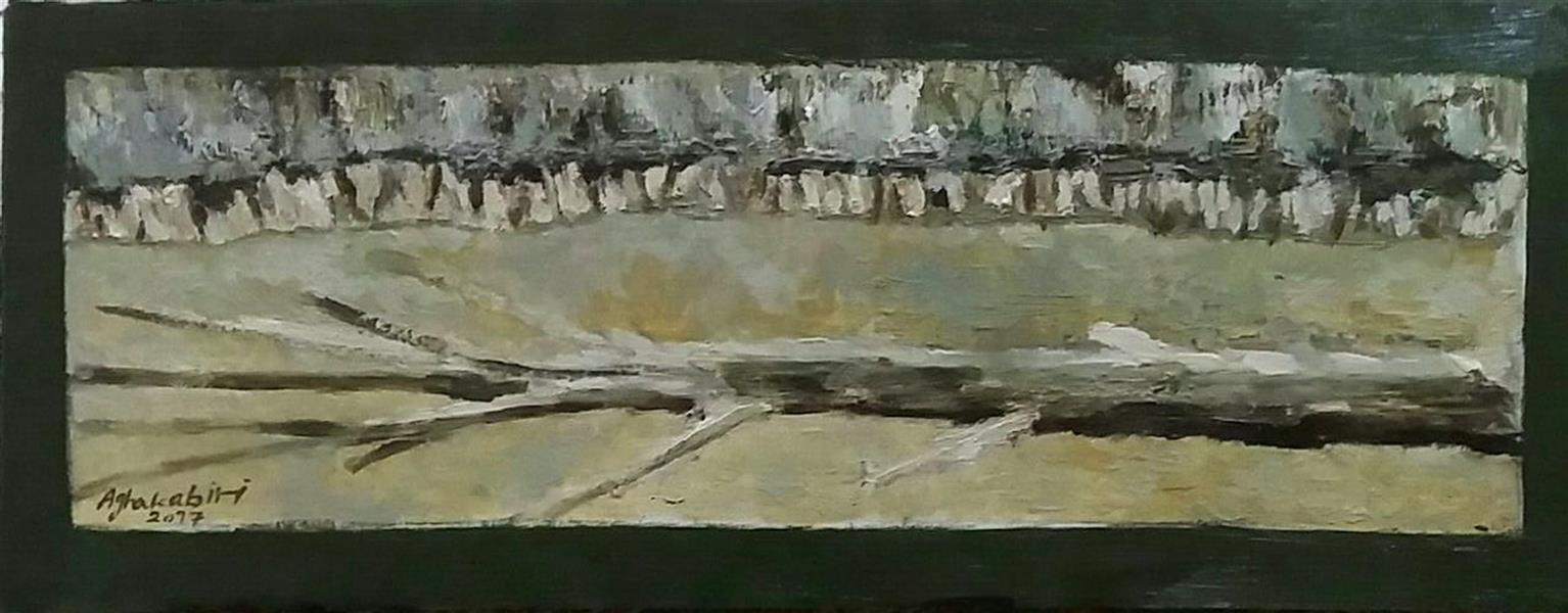 هنر نقاشی و گرافیک محفل نقاشی و گرافیک Fatemehaghakabiri نام هنرمند: فاطمه آقاکبیری عنوان : انقراض تکنیک: رنگ روغن ابعاد:30/40