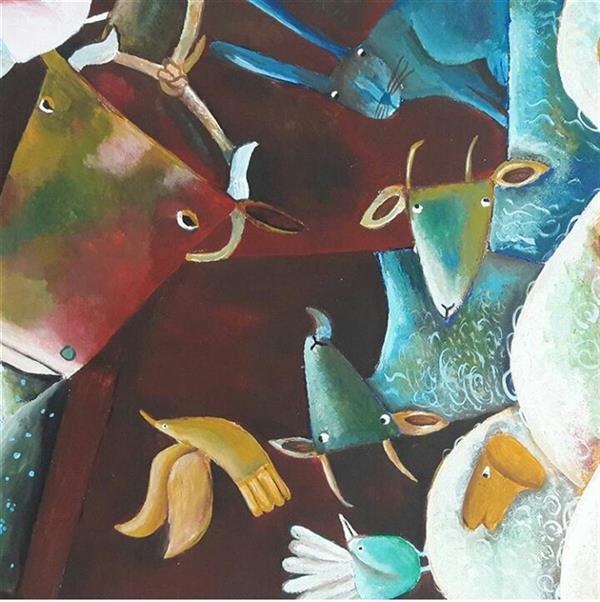 هنر نقاشی و گرافیک محفل نقاشی و گرافیک فاطمه محمدی اثرهنری فاطمه محمدی  با تکنیک اکریلیک در اندازه ۴۰ در ۶۰