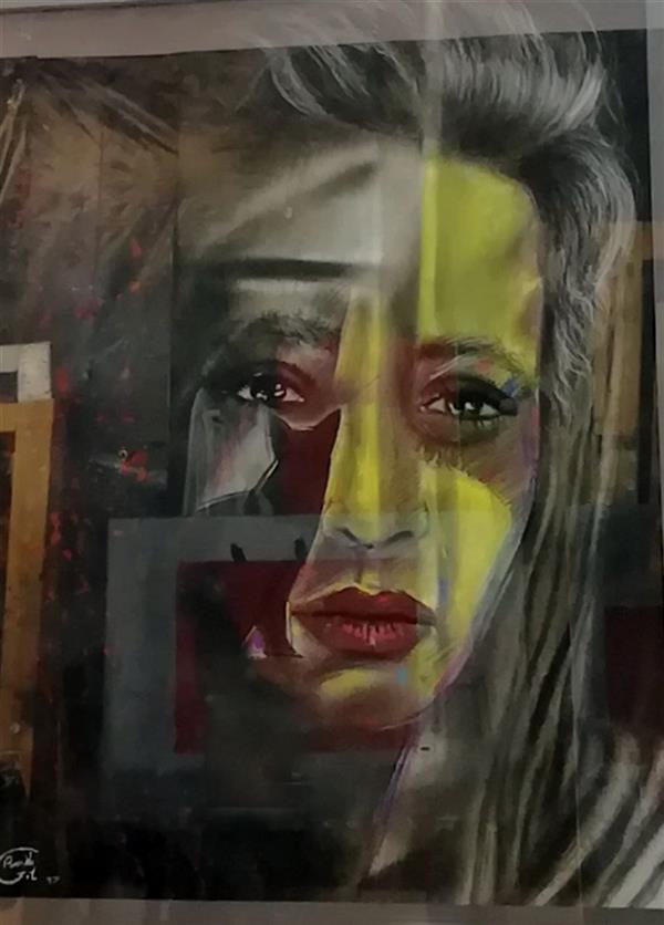 هنر نقاشی و گرافیک محفل نقاشی و گرافیک پونه گیل #رئال مفهومی #کنته ,پاستل