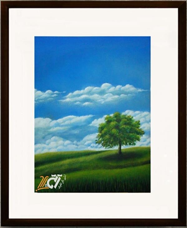 هنر نقاشی و گرافیک محفل نقاشی و گرافیک ایرج ملکی #آکرلیک ( ۵۰ × ۸۰ )