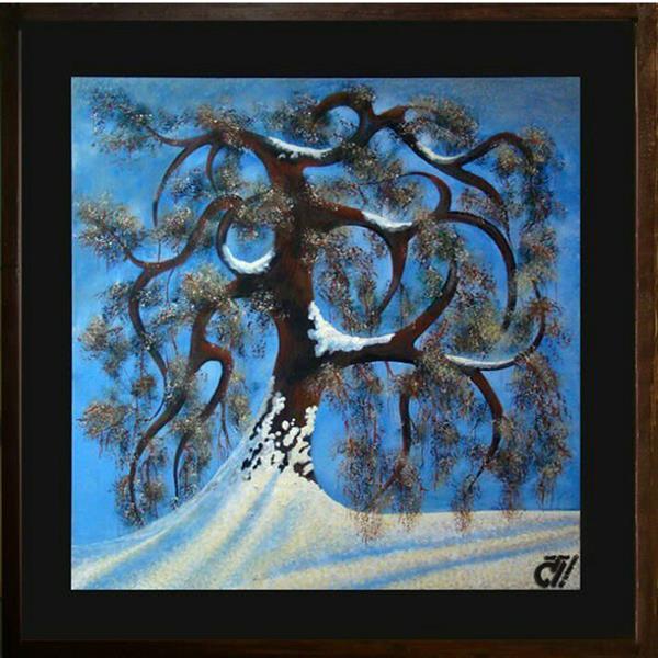 هنر نقاشی و گرافیک محفل نقاشی و گرافیک ایرج ملکی #بدون_عنوان ( #آکرلیک ) -  ۵۰ × ۵۰
