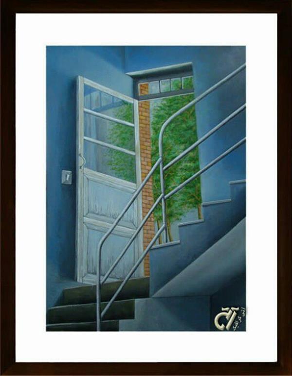 هنر نقاشی و گرافیک محفل نقاشی و گرافیک ایرج ملکی #آکرلیک _ ۵۰ × ۷۰