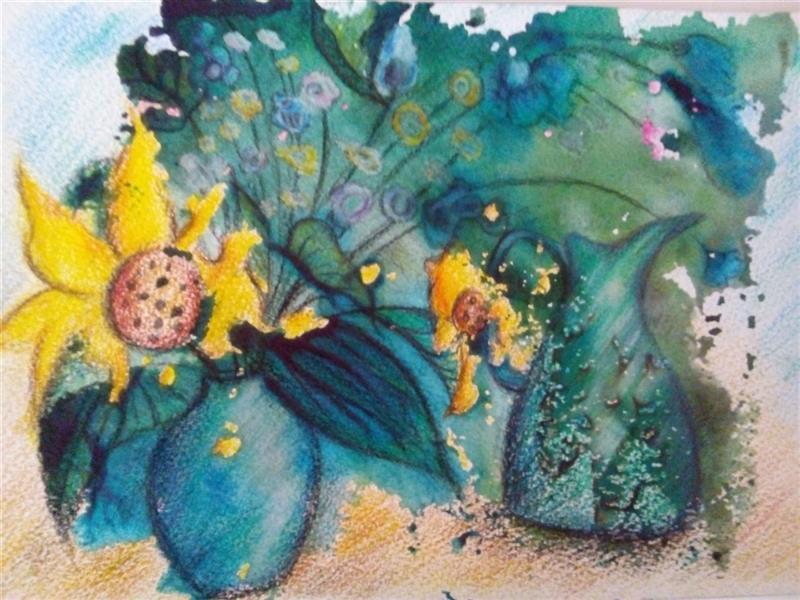 هنر نقاشی و گرافیک محفل نقاشی و گرافیک سمانه رمضانی سمانه رمضانی    مونوپرینت (آب مرکب ومدادرنگی)  13.18 سانتیمتر