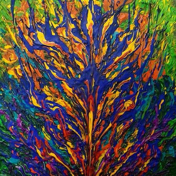 هنر نقاشی و گرافیک محفل نقاشی و گرافیک سمانه رمضانی اکریلیک روی مقوا       15.15سانتیمتر