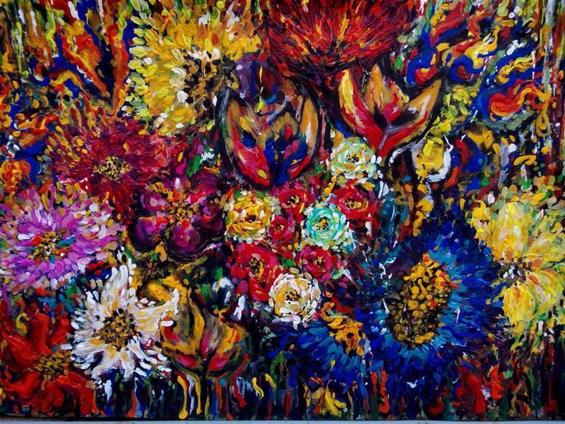 هنر نقاشی و گرافیک محفل نقاشی و گرافیک سمانه رمضانی اکریلیک روی مقوا        25.35