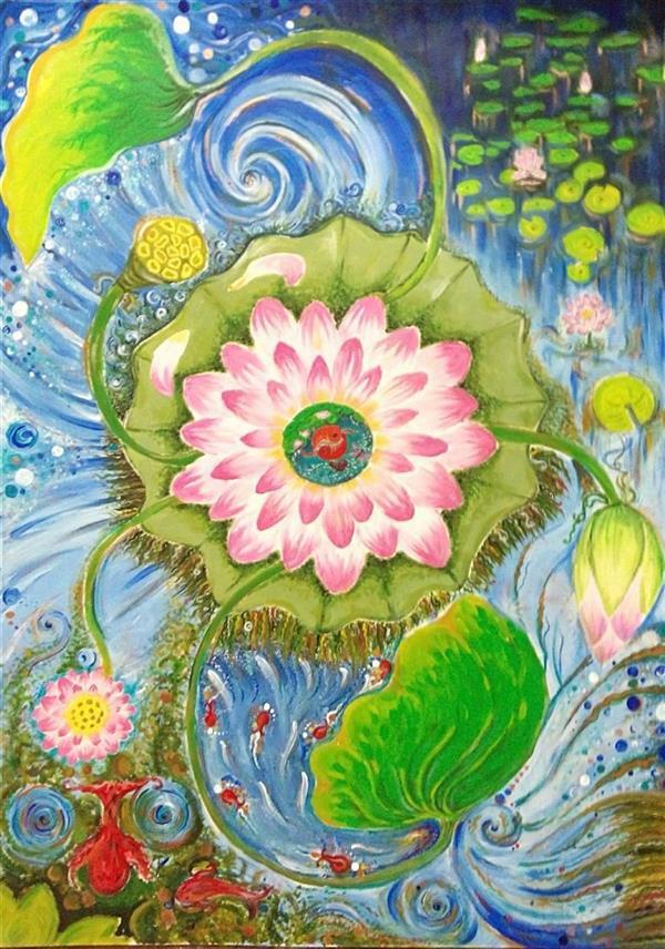 هنر نقاشی و گرافیک محفل نقاشی و گرافیک سمانه رمضانی سمانه رمضانی     اکریلیک روی مقوا    50.70       نیلوفرانه
