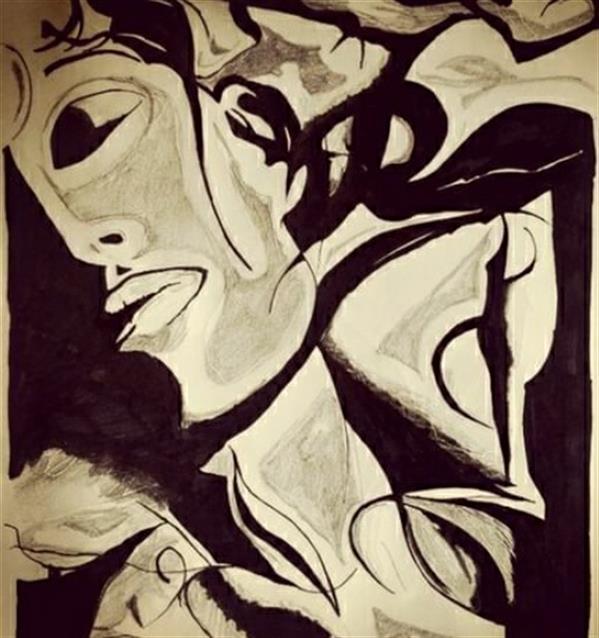 هنر نقاشی و گرافیک محفل نقاشی و گرافیک ﺳﺎﻡ پرنیان نام اثر خواب