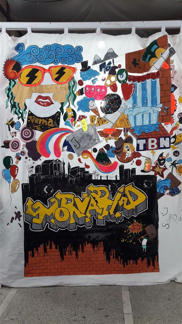 هنر نقاشی و گرافیک محفل نقاشی و گرافیک ﺳﺎﻡ پرنیان ابعاد ۲متر در ۱.۵۰ متر