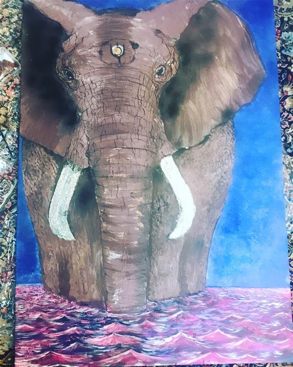 هنر نقاشی و گرافیک محفل نقاشی و گرافیک Milad Paras Sold