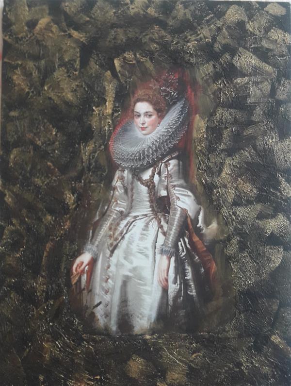 هنر نقاشی و گرافیک محفل نقاشی و گرافیک مریم ناز فلاحی دکوپاز با تکسچر