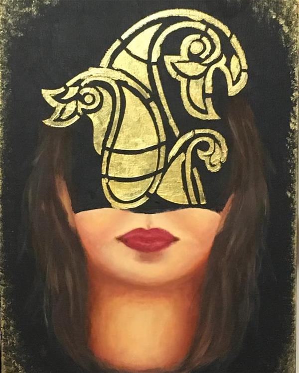 هنر نقاشی و گرافیک محفل نقاشی و گرافیک مریم ناز فلاحی رنگ روغن