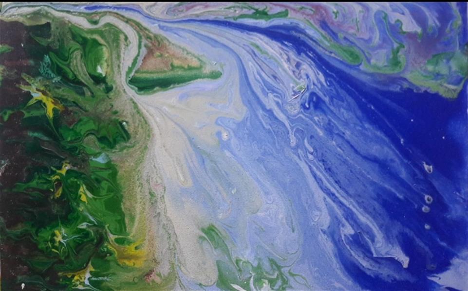 هنر نقاشی و گرافیک محفل نقاشی و گرافیک مریم ناز فلاحی اکریلیک روی بوم ابعاد ۲۰*۳۰