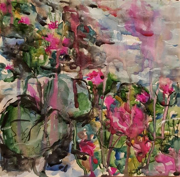 هنر نقاشی و گرافیک محفل نقاشی و گرافیک نسترن انوری آبرنگ روی مقوا سایز: ۲۹×۲۹ سانتی متر