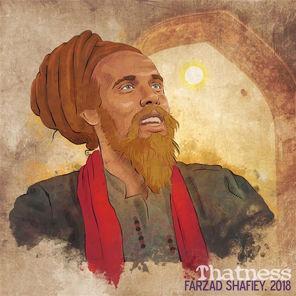 هنر نقاشی و گرافیک محفل نقاشی و گرافیک فرزاد شفیعی Ustad Tahir Faridi Qawwal درویش صوفی 2018 #دیجیتال
