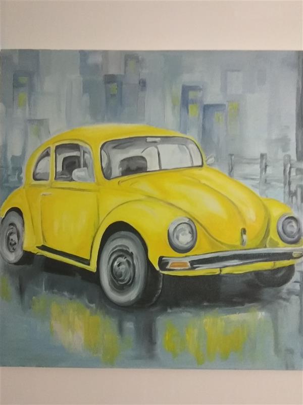 هنر نقاشی و گرافیک محفل نقاشی و گرافیک ارکیده نام اثر: نوستالژی خیس #رنگ و روغن بوم ۶۰-۶۰