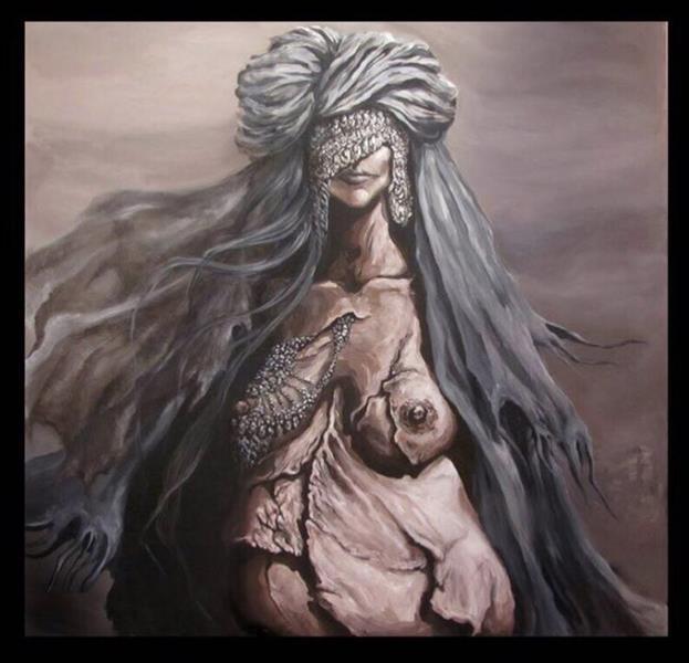 هنر نقاشی و گرافیک محفل نقاشی و گرافیک اوریا ایوک پروژه زنان سرزمین من ابعاد ، ١٢٠*١٢٠ آکرولیک روى بوم ١٣٩٣ #ouria #ouriaeyvak #artist #kurdishartist