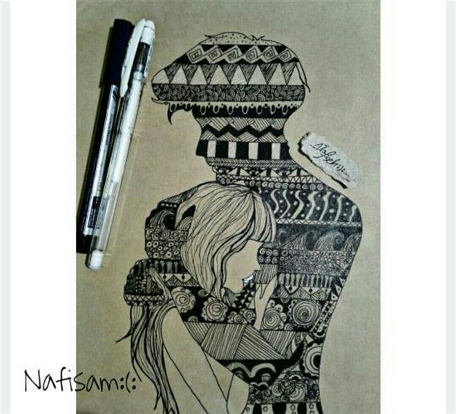 هنر نقاشی و گرافیک محفل نقاشی و گرافیک نفیسه امیری  #راپید#عاشقانه#نقاشی_دختر#نقاشی_پسر#نفیسه_امیری  :):
