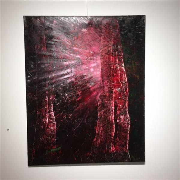 هنر نقاشی و گرافیک محفل نقاشی و گرافیک مرجان سپیده خو ابعاد100×80 رنگ روغن نام اثر#همیشه امیدی هست #درخت#زندگی#عشق#اثر#نقاشی