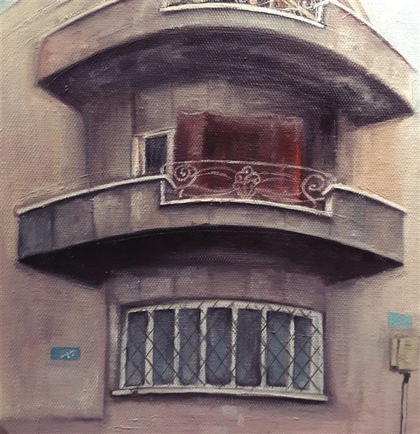 هنر نقاشی و گرافیک محفل نقاشی و گرافیک Jaleh Akhlaghi رنگو روغن روی بوم