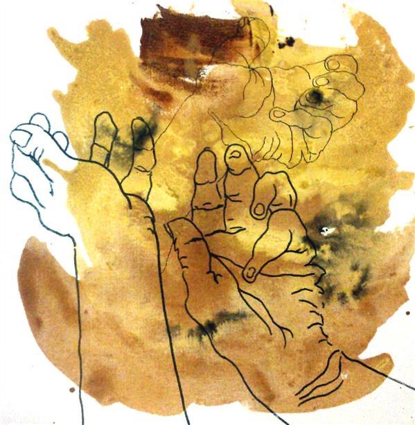 """هنر نقاشی و گرافیک محفل نقاشی و گرافیک شیرین محسنی نسب از انسان اولیه نقش دستی باقی مانده از دوست، گرمی دستی دست های من از دوست میگوید از اثر انگشت. از مهر ، کین و تمام تلاشی که در خود پنهان میکند! ...میدهندو باز میستانند خواه تقدیر باشد خواه لطافت باران   .... دست ها بیان میکنند ناگفته های تقدیر را می توان تا ابد به دست ها رجوع کرد.   It remained a """"Hand"""" print from an ancient man A warm """"Hand"""" from a friend My Hands talking from a friend  From her fingerprint From love, hate and all hide in them.  """"Hands"""" talk  Of unknown fate and rosewater of rain They are referable for ever."""
