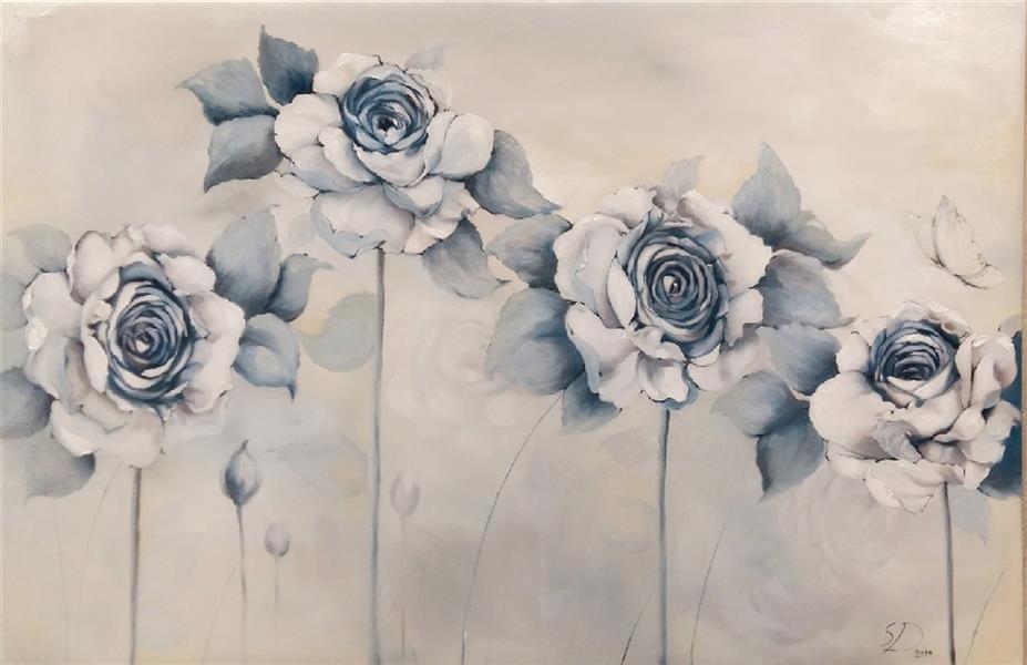 هنر نقاشی و گرافیک محفل نقاشی و گرافیک سحر داسدار نقاشی رنگ روغن  سایز ۶۰ در ۹۰