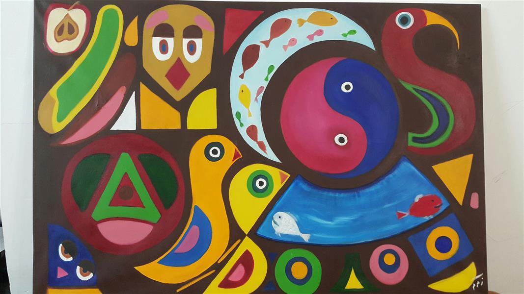 هنر نقاشی و گرافیک محفل نقاشی و گرافیک دریا_زهراموسوی منزه  سبک #مدرنیسم_سورئالیسم شماره ۹۱۷۱۰۹۲۲۹۰