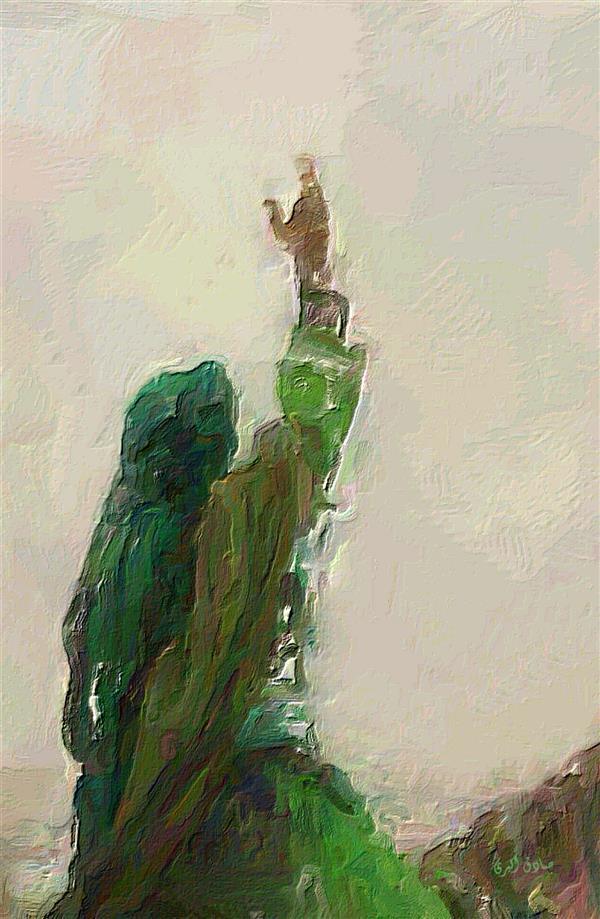 هنر نقاشی و گرافیک محفل نقاشی و گرافیک صادق اکبری عنوان:عاشورا اثر:صادق اکبری #رنگ و روغن روی بوم