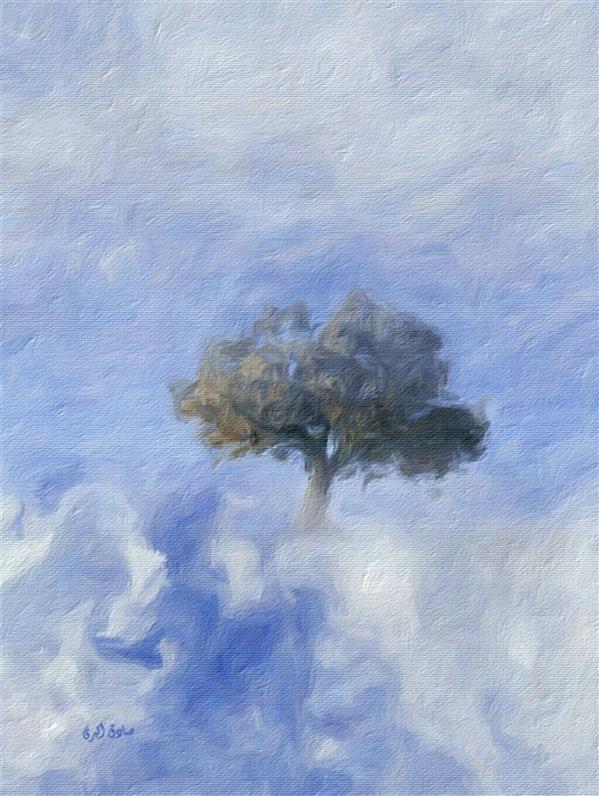 هنر نقاشی و گرافیک محفل نقاشی و گرافیک صادق اکبری عنوان:درخت
