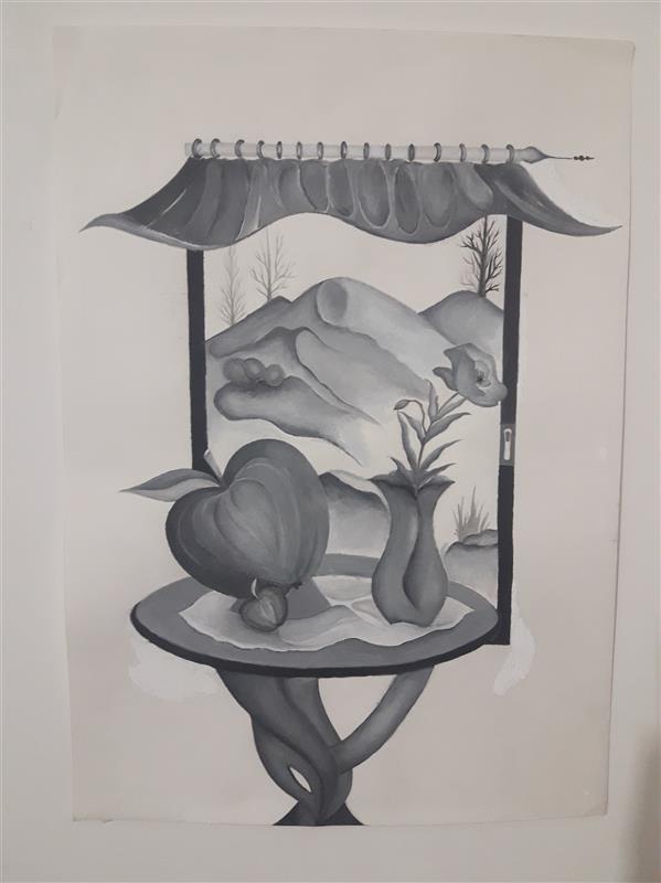 هنر نقاشی و گرافیک محفل نقاشی و گرافیک Fatemeh khonamri #گواش
