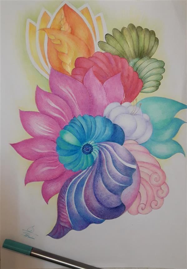 هنر نقاشی و گرافیک محفل نقاشی و گرافیک فاطمه خونمری