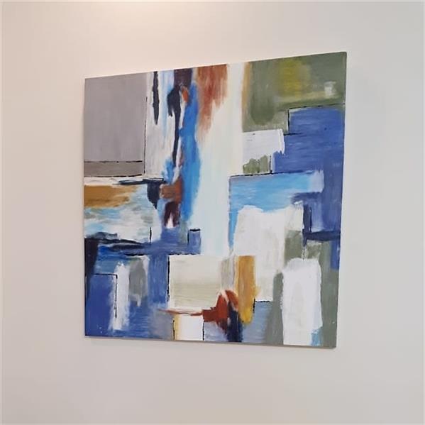 هنر نقاشی و گرافیک محفل نقاشی و گرافیک Fariba تابلو دکوراتیو،نقاشی آبستره،آکریلیک،۷۰×۷۰