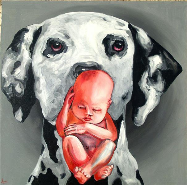 هنر نقاشی و گرافیک محفل نقاشی و گرافیک سینا فرج نژاد از مجموعه دنیای وارون ۵۰ در ۵۰ رنگ روغن