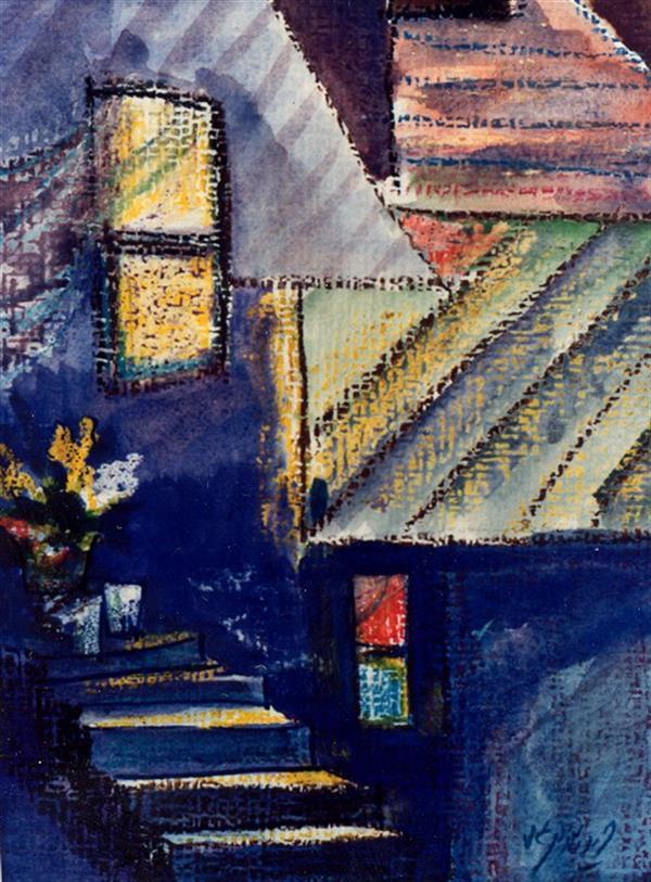 هنر نقاشی و گرافیک محفل نقاشی و گرافیک فرید اسلامی آبرنگ ترکیبی