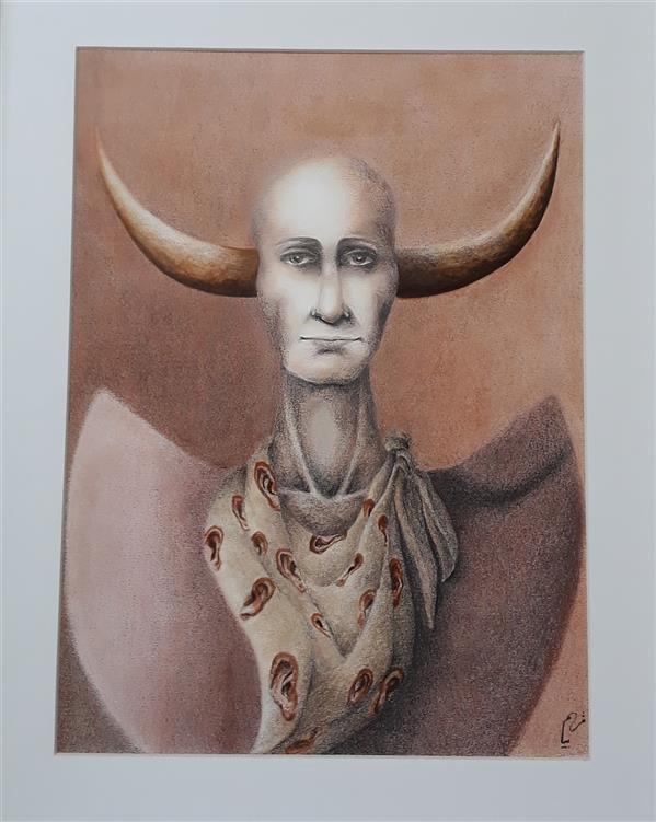 هنر نقاشی و گرافیک محفل نقاشی و گرافیک Merybayani ابعاد:30×40 تکنیک :مداد رنگی سبک:سورئال