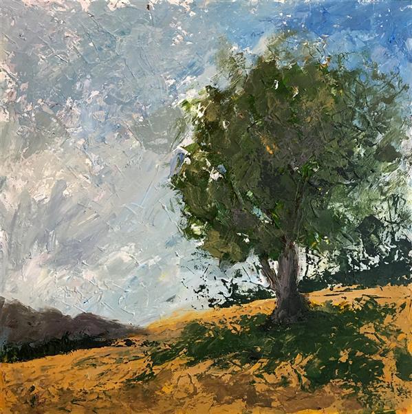 هنر نقاشی و گرافیک محفل نقاشی و گرافیک Shalman Art Gallery #رضا_عمادی رنگ روغن روی بوم همراه با قاب 1399
