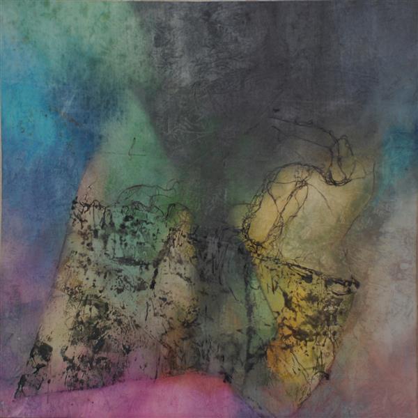 هنر نقاشی و گرافیک محفل نقاشی و گرافیک Shalman Art Gallery اثر #مهدی_سعادتی ابعاد 120*120 تکنیک ترکیب مواد