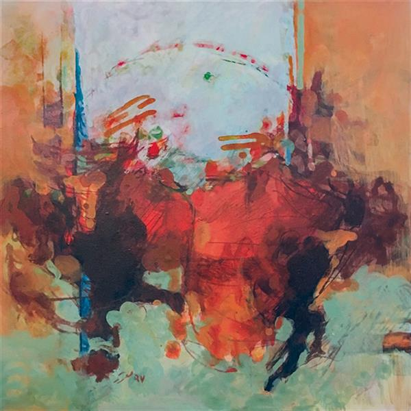 هنر نقاشی و گرافیک محفل نقاشی و گرافیک Shalman Art Gallery اثر #پرویز_معزز تکنیک اکریلیک روی بوم ابعاد 30*30
