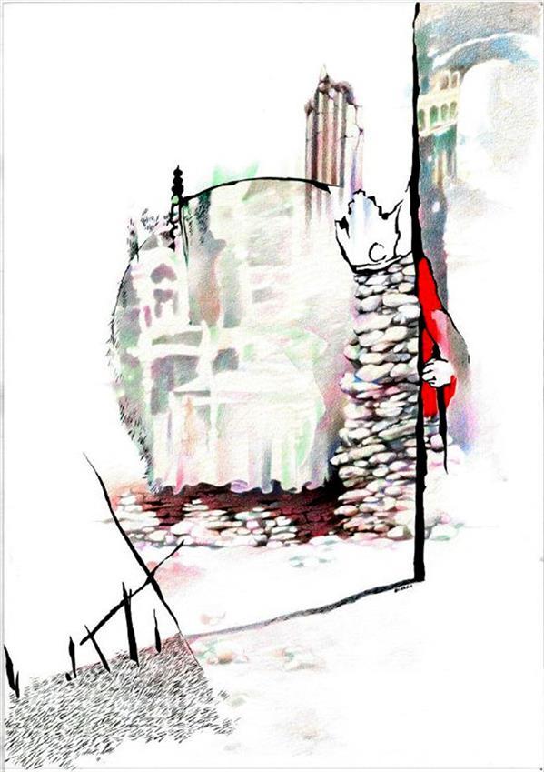 هنر نقاشی و گرافیک محفل نقاشی و گرافیک بوژان رحیمی رنگ و روغن روی بوم #۵۰ × ۷۰ سانتیمتر #به همراه قاب و پاسپارتو