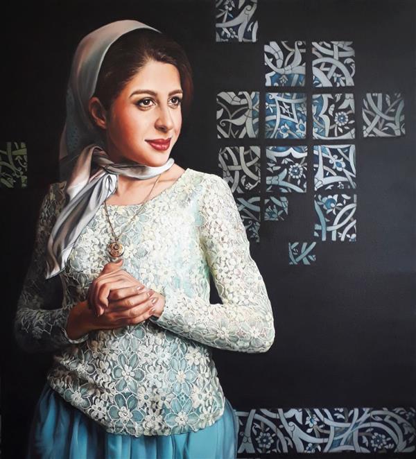 هنر نقاشی و گرافیک محفل نقاشی و گرافیک Lida abdoli #رنگ_روغن #اورژینال