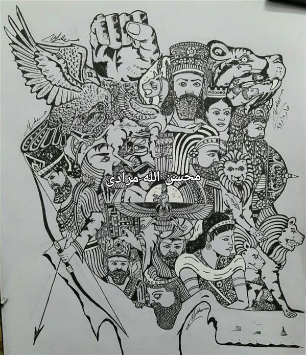 هنر نقاشی و گرافیک محفل نقاشی و گرافیک محسن الله مرادی نام هنرمند محسن الله مرادی طراحی ذهنی با راپید مفهومی