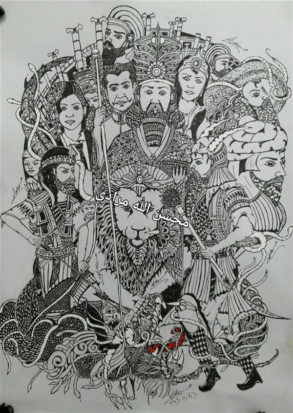 هنر نقاشی و گرافیک محفل نقاشی و گرافیک محسن الله مرادی نام هنرمند محسن اللهمرادی طراحی ذهنی مفهومی با راپید