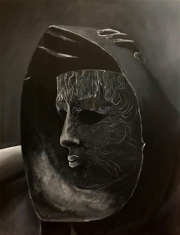 هنر نقاشی و گرافیک محفل نقاشی و گرافیک Pejvak Seraj نام اثر : نکیسا - ابعاد: 60 در 80 عمودی - تکنیک: رنگ روغن روی بوم.