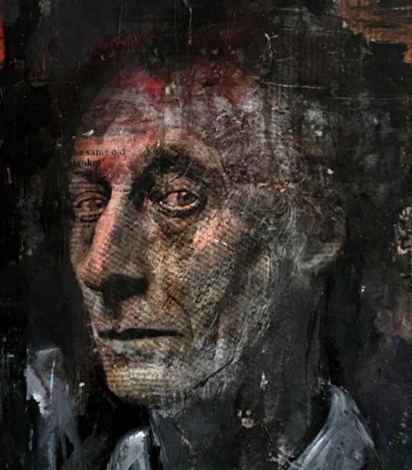 هنر نقاشی و گرافیک محفل نقاشی و گرافیک نیلوفر کرم آشتیانی ۶۰*۵۰ #میکس_مدیا #پرتره